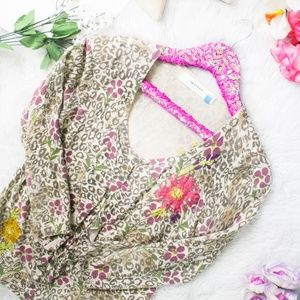 Sparrow Anthropologie Purrfect Posy Cardigan